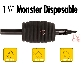 "Monster 1 1/2"" Rubber Disposable Tubes"