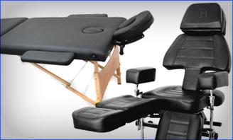 Tattoo Chair & Table