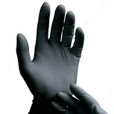 ブラックラテックス手袋