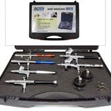 6 Aerógrafos Kit