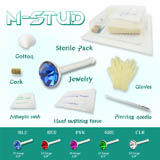 Nose Stud Kit