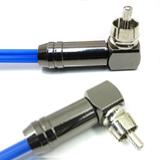Right Angled Premium RCA Cord