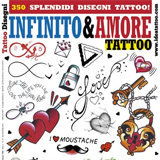 Infinity & Love Tattoo Flash