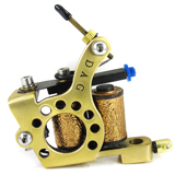 Dialer Tattoo Machine (Brass)