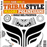Maori & Polynesian Tattoo Flash Book