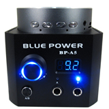 Blue Power with Speakers