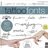 Hand Made Fonts Flash Book