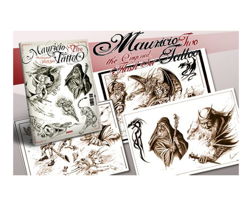 Mauricio Tattoo Flash Book