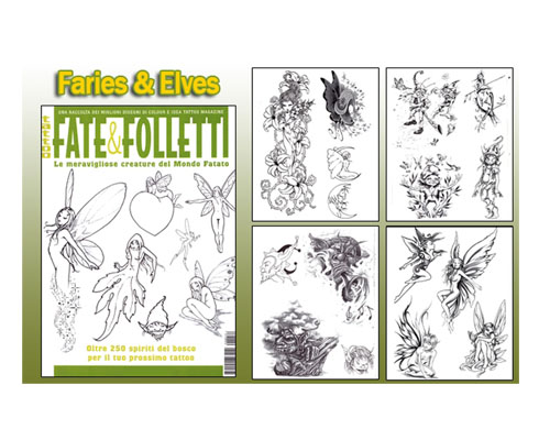 Fairies & Elves Flash Book