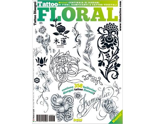 Lotus Tattoo Flash Book