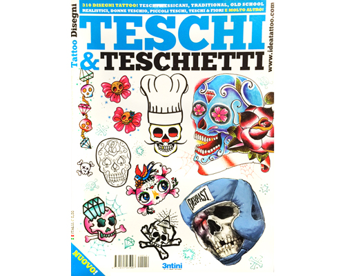 Skulls & Little Skull Tattoo Flash Book