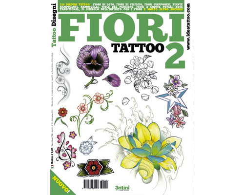 Flower Tattoo Flash Book #2