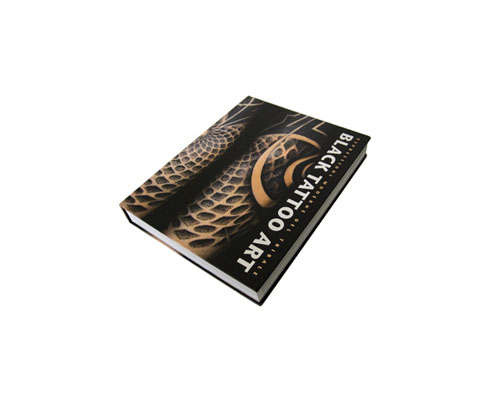 Black Tattoo Art Hard Cover Book