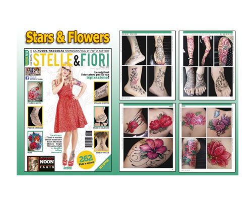 Stars & Flower Reference Book