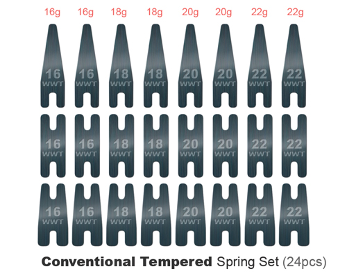 Conventional Spring Kit 24 pcs (Blue)