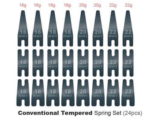 Spring Kit Convencional 24 pcs (Azul)