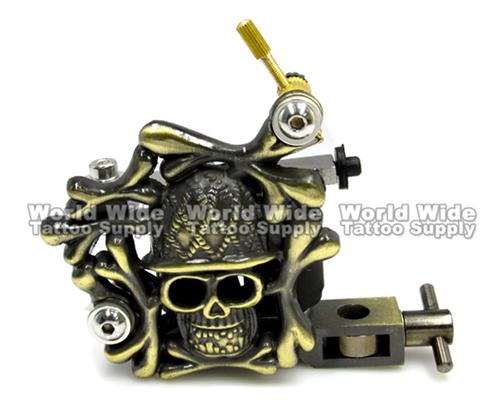 Skull Bones Tattoo Machine