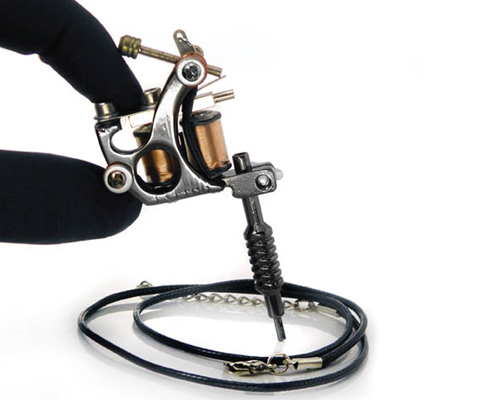 Mini Gun Metal Tattoo Machine #11