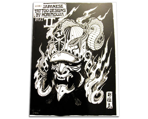 JAPANESE 2 Tattoo Flash Libro por Horimouja