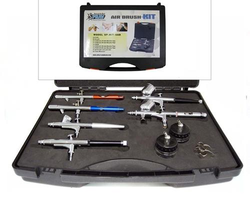 6 Airbrush Kit