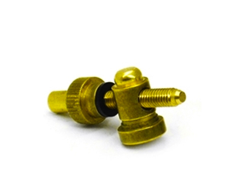 Brass Front Binding