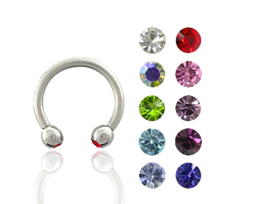 Discontinued Piercing Jewelry(Circular Barbell)