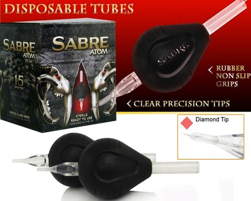 Diamond Tip ATOM Disposable Tubes