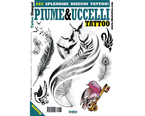 Bird & Feather Tattoo Flash Book