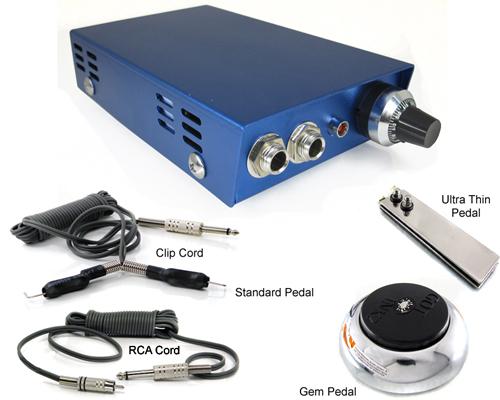 Mini Blue + Pedal + Cord Combo