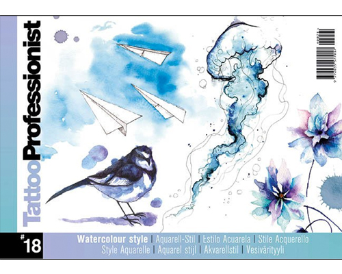 Pro Watercolor Flash Book #18