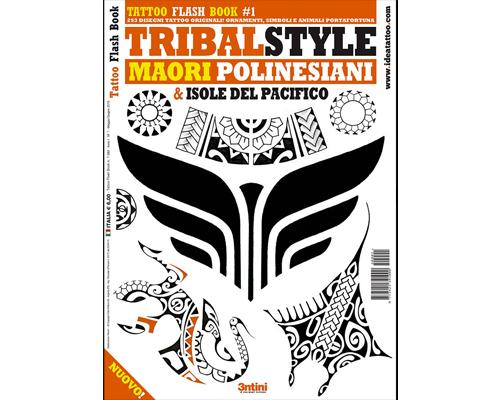 Maori & Polynesian Tattoo Flash Book