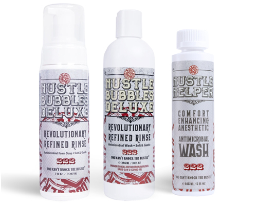 Hustle Butter Washes & Rinses