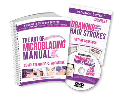The Art of Microblading Manual & DVD