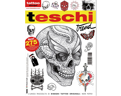 Skull Style Flash Book