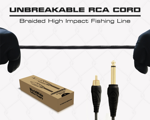 Unbreakable RCA Cord