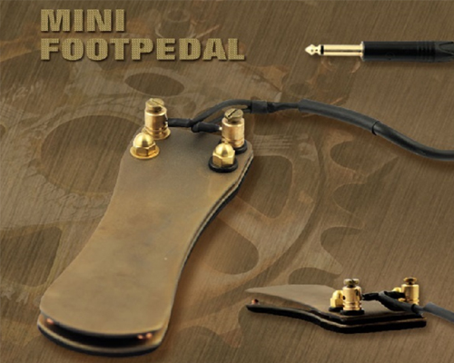 Ultra Thin Foot Pedal Copper
