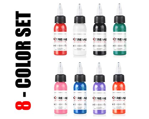 8 Color Sample Set