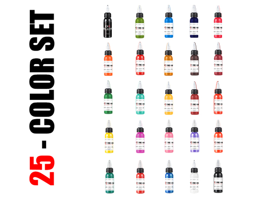 25 Color Set