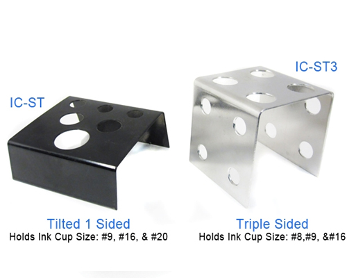 Steel Ink Cup Holder